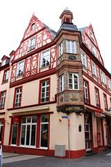 House of the Vier Türme Ensemble / Къща от ансамбъла Четирите кули (mitko_denev) Tags: германия райнландпфалц рейнландпфалц кобленц deutschland germany rhinelandpalatinate rheinlandpfalz koblenz coblenz unesco worldheritage юнеско наследство fachwerk fachwerkhaus