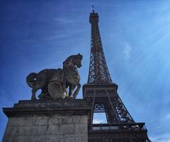 Horse Statue, Eiffel Tower