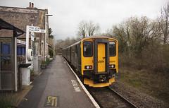 150249 Umberleigh 03/04/2019 (Flash_3939) Tags: 150249 class150 dmu dieselmultipleunit gwr greatwesternrailway umberleigh umb 2b74 station fosw rail railway train uk april 2018