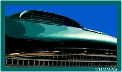 Aston Superleggera (ferrariartist) Tags: aston martin superleggera green vintagecar automotive automobile car sportscar exoticcar digitalart vectorart astonmartin