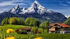 Bayern - OBERREITHLEHEN - mit Watzmann (monte-leone) Tags: oberreithlehen watzmann landscape landschaft bayern
