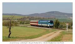 854 035 CD - Libomyšl (CC72080) Tags: automotrice triebzug 854 cd libomyšl interrégio zug vlak train treno personenzug