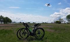 2019 Bike 180: Day 46 - Take Off (mcfeelion) Tags: cycling arlingtonva bike bicycle bike180 2019bike180 gravellypointpark dca