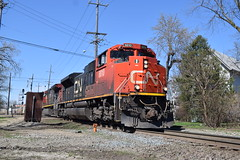 Out of Towner Canadian at JB (Twigy BNSF) Tags: canadian national emd sd70m2 jb eje west chicago illinois