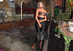 Watching As You Walking Towards Me (alexandra sunny) Tags: ella avada luova mybagsbymila tzposes aviglam catwa maitreya sintiklia secondlfe blog blogger woman fashion jewelry bags city love