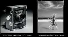 Home Made Wide Angle (jimhairphoto) Tags: america nw northwest leftcoast oregon remainsoftheday naturalworld 4x5project crown graphic homemade wideangle fixedfocus camera 4x5 film rollei ir infrared blackandwhite blancetnoir schwarzeweiss blancoynegro blancinegre siyahrebeyaz jimhairphoto