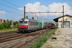 Navette infra colorée pour Culmont (railmax07) Tags: train ferroviaire infra bb67400 bb75000 portes culmontchalindrey tain gare sncf