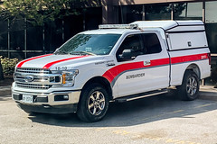 Bombardier Aerospace - Ford F-150 (LX112 Emergency Photography) Tags: toronto police fire emergency ems services medical cvpi crown victoria ford super duty f150 bombardier aerospace downsview airport facility factory plane