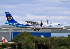F-WWER ATR72 Mandarin Airlines (@Eurospot) Tags: b16857 fwwer atr atr72 mandarin 1560 toulouse blagnac
