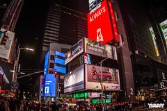 Times Square, New York (yravaryphotoart.com) Tags: newyork manhattan timessquaremanhattannewyork timessquare canoneos7d canon zenitar16mmf28fisheye yravaryphotoart yravaryphotoartcom
