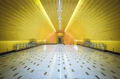 Metro Parque Almagro (Juanjo Uribe Durán) Tags: film santiagodechile santiago 35mm 35mmfilm filmnotdead canonprima kodak kodakfilm canon pointandshot kodakcolor200 color200 analogue analoga photostreet subway metrodesantiago