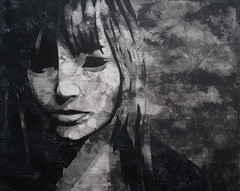 Mauersegler (Christian Haupt) Tags: stencil spraypaint sprayart serigrafie art acryl malerei monochrom painting pochoir kunst