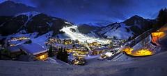 Saalbach - Hinterglemm - Nachtpisten Panorama (monte-leone) Tags: saalbach hinterglemm salzburger land salzburg landscape landschaft ski sport ort winter stadt city österreich austria panorama