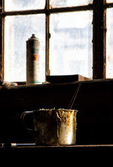 Golden Cup (uhx72) Tags: lostplaces königshütte stilllife cup clue badlauterberg