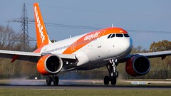 Easyjet Airbus A320 NEO (ianclarke82) Tags: a320251 neo airbus airbusa320neo guzht aircraft airport airfield aviation aviationphotography canon80d airliners runway pilot manchester manchesterairport egcc