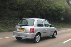 (Sam Tait) Tags: petrol silver car door 3 2001 k11 march micra nissan