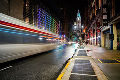 Philadelphia City Hall (Bernie Duhamel) Tags: philadelphia pennsylvania cityhall greatphotographers teamsony bernie duhamel sonya7riii cityscape city night lights longexposure