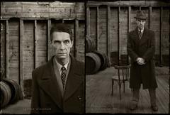 Leopold Wielemans, 1932. (blaisearnold.net) Tags: guilty outlaw jail prisonnier voleur escroc thief vintages vintage clothes 30s mugshot suspect crime gangster portrait police hat chapeau bootlegger
