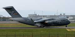 04-4132 (PrestwickAirportPhotography) Tags: egpk prestwick airport usaf united states air force boeing c17 globemaster 044132 mcguire mobility command
