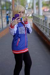 Yuri Plisetsky - Yuri!!! on Ice (timz2011) Tags: yuriplisetsky yurionice yuri watfordgeekyconapril2019 watfordgeekycon cosplay anime gaming film comiccon lensbaby sol45