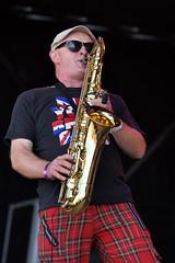 185-20180602_14th Wychwood Music Festival-Cheltenham-Gloucestershire-Main Stage-New York Brass Band-saxophone (Nick Kaye) Tags: wychwood music festival cheltenham gloucestershire england