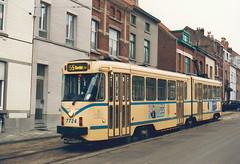 STIB-T55-3217-7724-04-12-1993 (phi5104) Tags: trams belgië belgique brussel bruxelles mivb stib ligne55