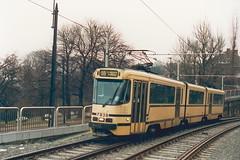 STIB-T55-3213-7938-04-12-1993 (phi5104) Tags: trams belgië belgique brussel bruxelles mivb stib ligne55