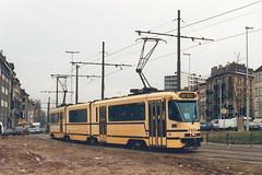 STIB-T55-3191-7905-03-12-1993 (phi5104) Tags: trams belgië belgique brussel bruxelles mivb stib ligne55