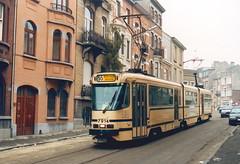 STIB-T55-3178-7914-27-11-1993 (phi5104) Tags: trams belgië belgique brussel bruxelles mivb stib ligne55