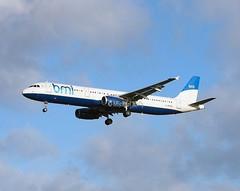 bmi                           Airbus A321                                G-MEDM (Flame1958) Tags: gmedm 0691 bmi bmia321 londonheathrowairport lhr egll 171209 1209 2009 britishmidland britishmidlandairways airbus airbusa321 a321 321