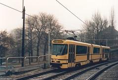STIB-T55-3554-7911-24-12-1994 (phi5104) Tags: trams belgië belgique brussel bruxelles mivb stib ligne55