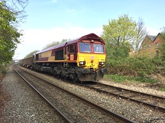 66031 at Aylesbury 6Z48 (Karel1999 Over Two Million views ,many thanks) Tags: england aylesbury railway railroad trains locomotives zug vlak