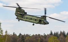 RNLAF_CH47D_D103_GLV5_APR2019 (Yannick VP) Tags: military transport utility helikopter heli helo turbine turboshaft rnlaf klu royal netherlands airforce koninklijkeluchtmacht boeing vertol ch47 chinook d103 shadow oirschot glv5 lowflying april 2019