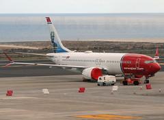 EI-FYI - Norwegian Airlines B737 MAX-8 (✈ Adam_Ryan ✈) Tags: tfs tenerifesouth tenerife canaryislands canaries spain airport airbusboeing aircraft sun p510 plane planespotting flight boeing 737 max 8 b737max8 b737 b737max groundedaircraft grounded 2019 march april crash incident worldwide ethiopian lionair b737max8crash boeing737max8 tui tuiairways norwegian eifyi gtumf manchesterairport helsinki uk finland fleet