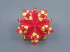 Patterns (masha_losk) Tags: kusudama кусудама origamiwork origamiart foliage origami paper paperfolding modularorigami unitorigami модульноеоригами оригами бумага folded symmetry design handmade art