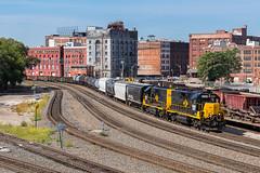 Kansas City Missouri (Nolan Majcher) Tags: kansas city terminal kct mo missouri 3935 emd gp392 wamx west bottoms old union depot interlocking tower