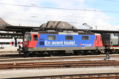2019-04-17, CFF, Solothurn, Re 420 280 (Fototak) Tags: eisenbahn treno train railway elok locomotive re420 sbbcffffs solothurn switzerland cargo 420280