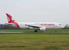 Air Arabia                                      Airbus A320                                            CN-NMF (Flame1958) Tags: airarabia airarabiamaroc airarabiaa320 airbusa320 airbus a320 320 cnnmf dub eidw dublinairport 230419 0419 2019 9418