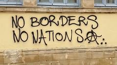 """No Borders, No Nations"" Nicosia 2019"