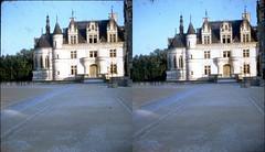 Batch E 0151 (dizzygum) Tags: vintage stereo 3d slide image france 1960 chateau chenonceaux