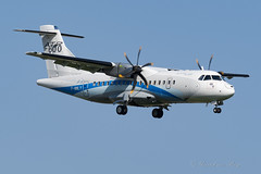 ATR42_FWWLY_EBAW_RWY29_APR2019 (Yannick VP - thank you for 1Mio views supporters!!) Tags: civil commercial passenger pax transport aircraft airplane aeroplane prop propliner turboprop avionstransportregional alenia eads atr atr42 atr42600 fwwly antwerp airport anr ebaw belgium be europe eu april 2019 aviation photography planespotting airplanespotting approach landing runway rwy 29