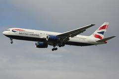 G-BNWX | Boeing 767-336ER | British Airways (cv880m) Tags: london heathrow lhr egll uk gb england aviation airliner airline aircraft airplane jetliner airport gbnwx boeing 767 763 767300 767336 baw british britishairways speedbird