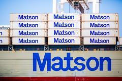 Matson (Thomas Hawk) Tags: america california eastbay matson oakland usa unitedstates unitedstatesofamerica boat ship fav10