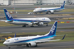 JA62AN B737-800 JA8677 B767-300  JA875A B787-9 ANA (JaffaPix +5 million views-thanks...) Tags: ja62an b737800 ja8677 b767300 ja875a b7879 ana allnippon jaffapix davejefferys tokyoairport japan aircraft airplane aeroplane aviation flying flight runway airline airliner hnd haneda tokyohaneda hanedaairport rjtt planespotting 767 b767 b763 boeing