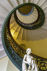 Spiral Staircase - Peabody Conservatory, Baltimore (crabsandbeer (Kevin Moore)) Tags: art baltimore city mtvernon museum walters waltersartgallery peabody peabodyconservatory music sculpture stairs staircase spiral spiralstaircase architecture mountvernon maryland goldenmean stilllife
