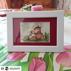 🌷🐰 🎁Vielen Dank: #Repost @sibylla76 ・・・ Bei meiner Mutter kam heute schöne Osterpost an 🐰 Danke liebe @wandklex fürs Helfen bei der niedlichen Überraschung, meine Mama hat sich sehr gefreut  #wandklexkundenfoto #osterhasi #ostern (wandklex Ingrid Heuser freischaffende Künstlerin) Tags: ifttt instagram wandklex ingrid hesuer art kunst etsyda dawandada etsyseller dawandaseller watercolor watercolour meetthemaker behindthescenes kunstatelier artwork malerei artist etsyfinds etsygifts etsyfindes dawandafinds aqaurell