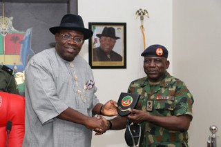 HSDickson - NYSC DIRECTOR COURTESY VISIT TO THE GOVERNOR 2nd APRIL 2019