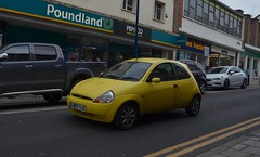 Ka (Sam Tait) Tags: aberystwyth small car retro cool old ford ka yellow zetec climate 1300 13 2007