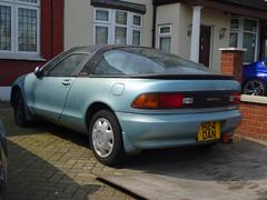 1990 Toyota Sera (Neil's classics) Tags: vehicle 1990 toyota sera 1550cc abandoned car
