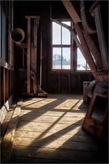 Light (ronnymariano) Tags: mill 2019 sun floor abandoned window inside sidelight shadow wood luminance light